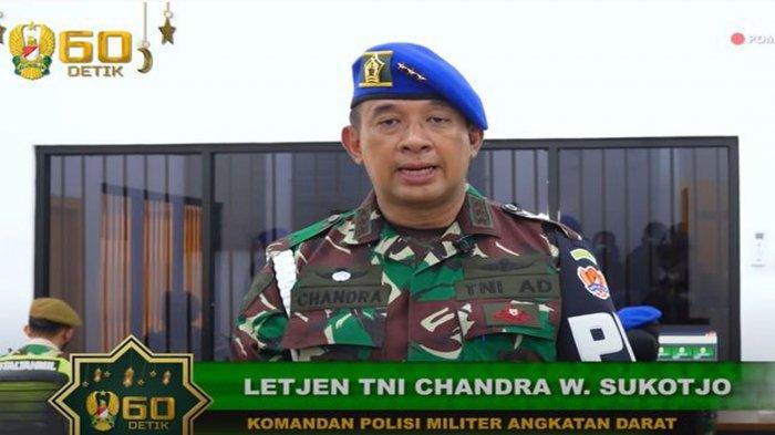Biodata Letjen TNI Chandra Dampingi Jenderal Andika Perkasa Resmikan Penjara Militer Super Ketat