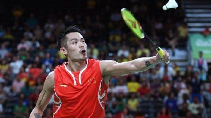 Pebulu tangkis tunggal putra China, Lin Dan saat bertanding tahun 2016 silam