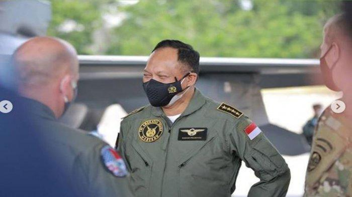 Biodata Marsekal TNI <a href='https://manado.tribunnews.com/tag/fadjar-prasetyo' title='FadjarPrasetyo'>FadjarPrasetyo</a> yang Pantau Latihan Perang Jet Tempur F-16 TNI AU dan USAF