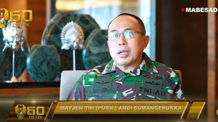 Biodata Mayjen TNI Andi Sumangerukka Anak Buah Jenderal Andika Perkasa yang Pensiun, Ahli Arhanud