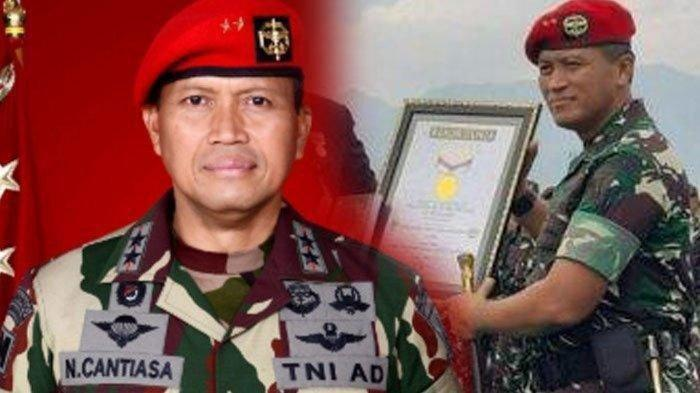 Biodata <a href='https://manado.tribunnews.com/tag/mayjen-tni-i-nyoman-cantiasa' title='MayjenTNIINyomanCantiasa'>MayjenTNIINyomanCantiasa</a> Jenderal dari Kopassus yang Pernah Bebaskan Sandera KKB Papua