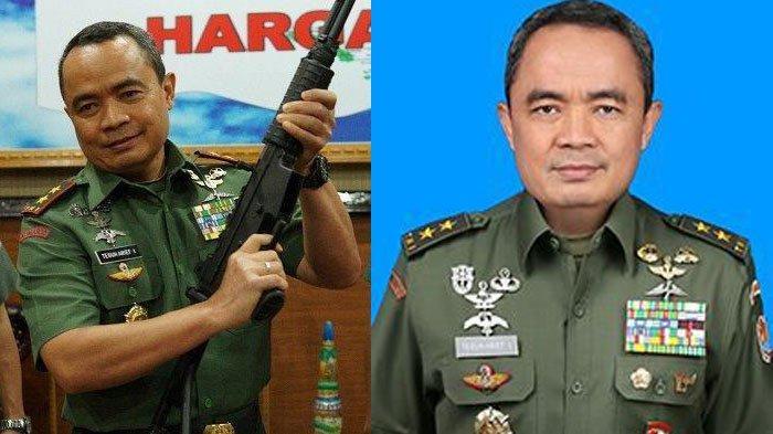 Biodata Mayjen TNI Teguh Arief Indratmoko Asintel Jenderal Andika Perkasa, Mantan Petinggi Kopassus
