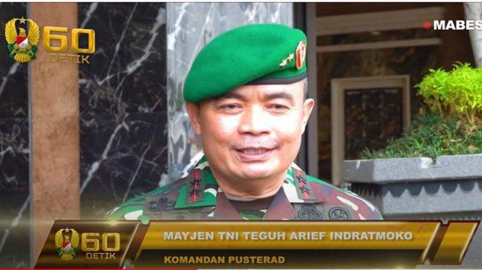 Biodata Mayjen TNI Teguh Arief Indratmoko Perwira Kopassus yang Baru Dilantik Jadi Danpusterad
