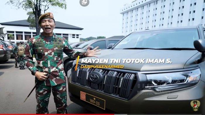 Biodata Mayjen TNI Totok Imam Santoso, Kaget Dapat Toyota Land Cruiser dari Jenderal Andika Perkasa