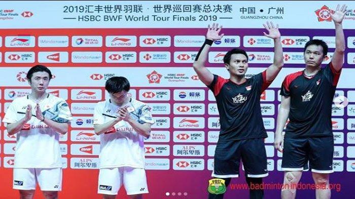 Biodata Mohammad Ahsan dan Hendra Setiawan, Juara Ganda Putra BWF World Tour Finals 2019