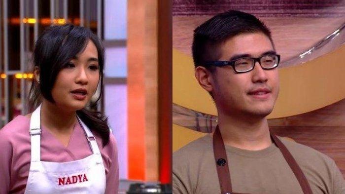 Biodata Nadya dan Bryan Masterchef Indonesia Season 8 yang Diprediksi Bakal Duel di Grand Final