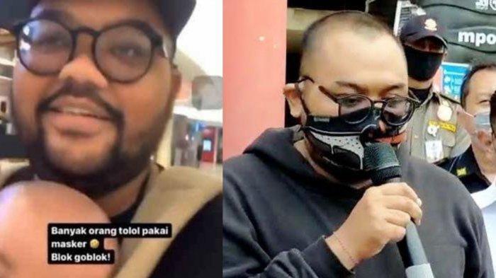 Biodata Putu Arimbawa, Hina Pengunjung Bermasker di Mal Surabaya Diamankan Polisi, Motifnya Iseng