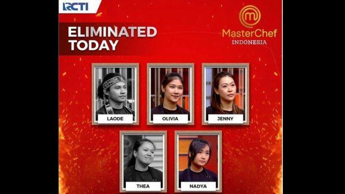 Biodata Thea dan La Ode Peserta MasterChef Indonesia Season 8 yang Pulang di Babak 10 Besar