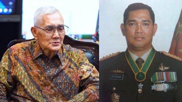 Biodata Try Sutrisno Mantan Panglima ABRI yang Kunjungi Jenderal Andika Perkasa di Mabes TNI AD