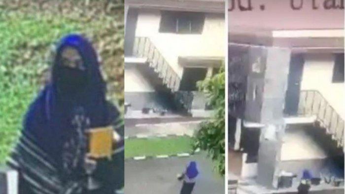 ZA Perempuan Terduga Teroris, Tembak  Polisi 6 Kali, Langsung Tersungkur oleh Tembakan Sniper