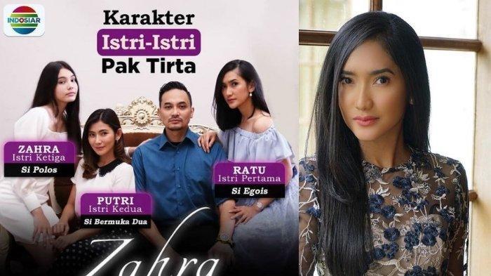biodata Zora Vidyanata pemeran Ratu di sinetron Suara Hati Istri