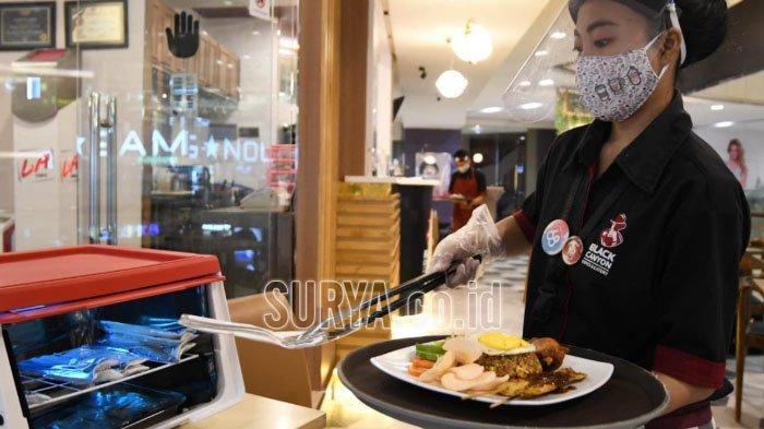 Persiapan di Era New Normal, Restoran Ini Sediakan Box Sterilisasi Sinar UV