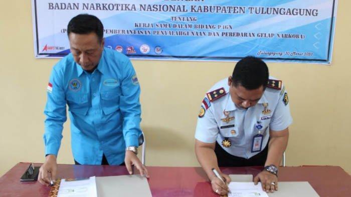 Gandeng BNNK, Lapas Tulungagung Kerja Sama Berantas Peredaran Narkoba dari Dalam Lapas