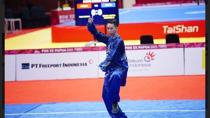 Bobbie Valentinus Gunawan tampil membela Jatim dan mampu menyumbang medali emas pada PON XX Papua 2021