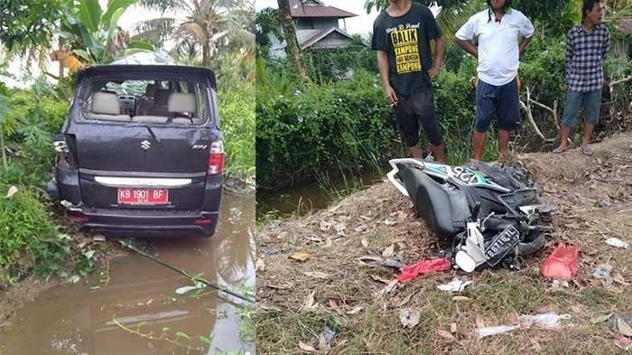 Bocah 16 Tahun Setir Mobil Plat Merah Berujung Kecelakaan Maut, Tabrak Motor Tewaskan Ibu & Anak