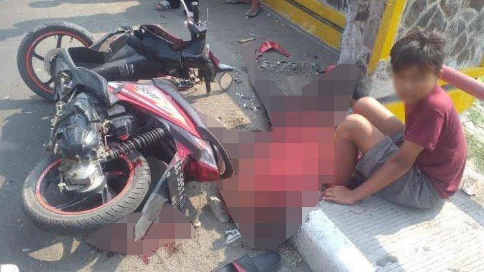 Usai Balapan, Tiga Bocah di Tulungagung Mengalami Kecelakaan di Jembatan Ngujang 2