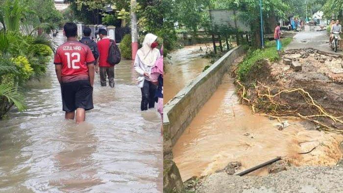 Banjir di Bojonegoro Rendam Ribuan Rumah dan Sawah, Jembatan Putus, ini Langkah BPBD