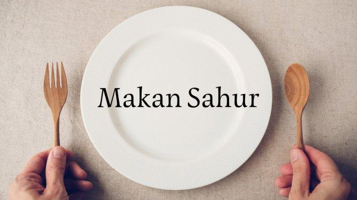 Ilustrasi - Makan Sahur