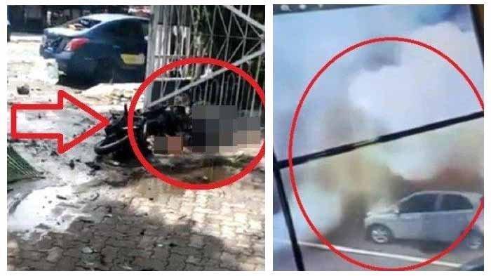 Sebuah bom bunuh diri di Gereja Katederal Makassar menewaskan dua orang dan melukai 19 orang. Diduga sosok Lukman dan istrinya sebagai pengantin bom bunuh diri tersebut.