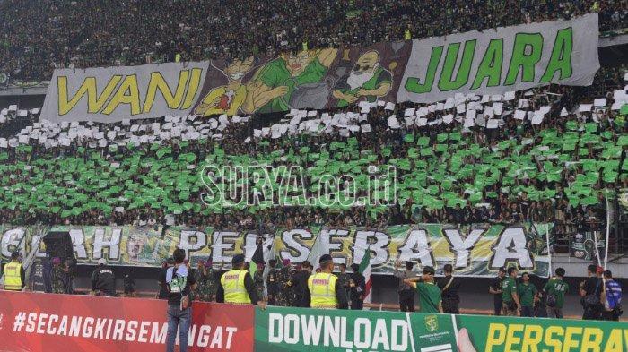 Persebaya Surabaya Dianggap Kalah jika Bonek dan Bonita Datang ke Stadion Pertandingan Bajul Ijo