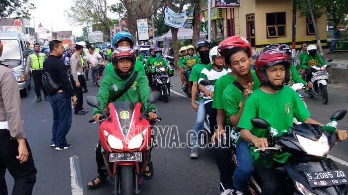 Bonek Asal Jombang Pun Ikut Datang Saksikan Laga Persebaya vs Arema FC