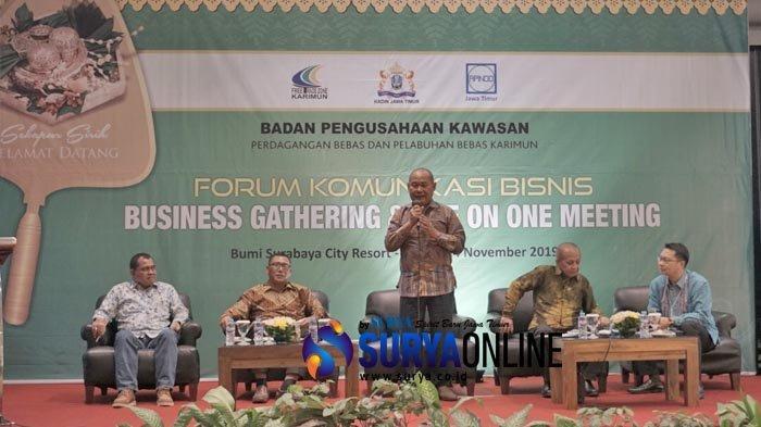 Sebut Punya Modal Besar, BP Karimun Ajak Pengusaha Jatim untuk Investasi Baru di Kepulauan Karimun