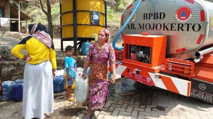 Masuk Musim Kemarau, Warga Lereng Gunung Penanggungan Kec Ngoro Mojokerto mulai Krisis Air Bersih