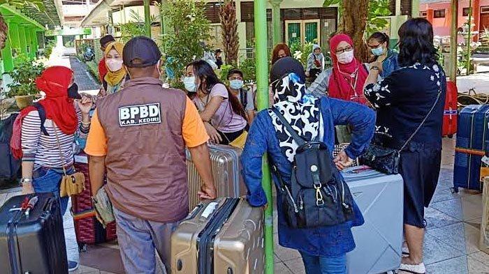 Pemkab Siapkan Dua Tempat Isolasi Mandiri untuk Pekerja Migran yang Sudah Tiba di Kediri