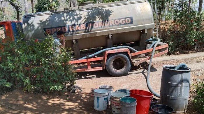 Puluhan Ribu Jiwa di Ponorogo Berpotensi Terdampak Kekeringan, BPBD Akan Droping Air Bersih