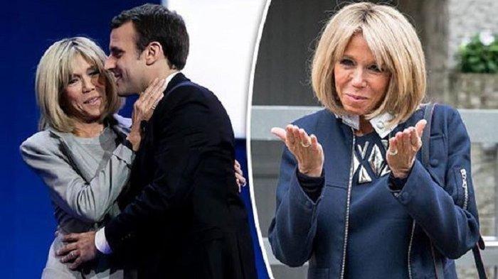 Biodata Brigitte Trogneux Istri Presiden Prancis Emmanuel Macron Lahir Dari Keluarga Terpandang Halaman All Surya