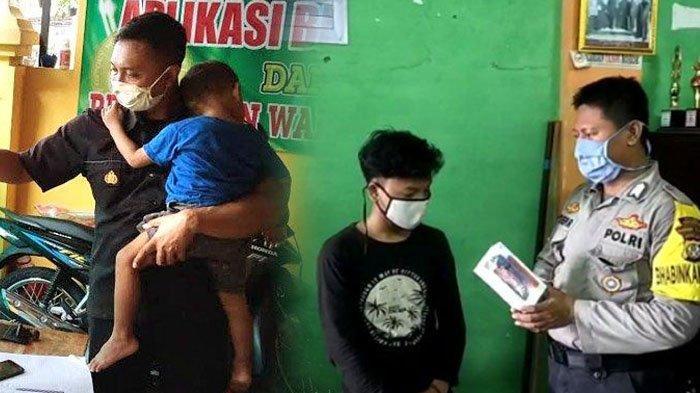 Kisah 2 Polisi Berhati Malaikat saat Corona, di Tulungagung Bripka Endro Bagi Rp 40 Juta untuk Warga