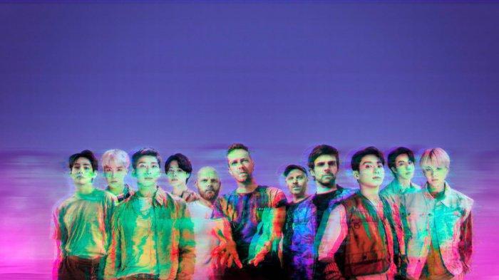BTS dan Coldplay Lakukan Kolaborasi Lewat My Universe, Chris Martin Rekaman Langsung di Korea