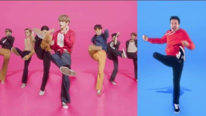 Live Streaming BTS di Jimmy Fallon Hari ini 29 September Jam 11.30, Rambut Jungkook Belah Tengah?