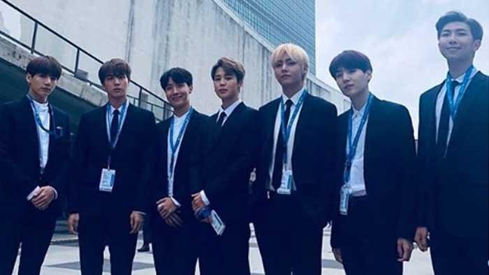 BTS Hadiri Sidang Umum PBB ke-73, Ini Pidato yang Dijelaskan RM, Ajak Milenial untuk Speak Yourself