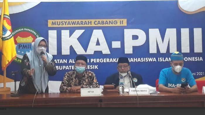 Wakil Bupati Bu Min Terpilih secara Aklamasi Jadi Ketua IKA PMII Gresik