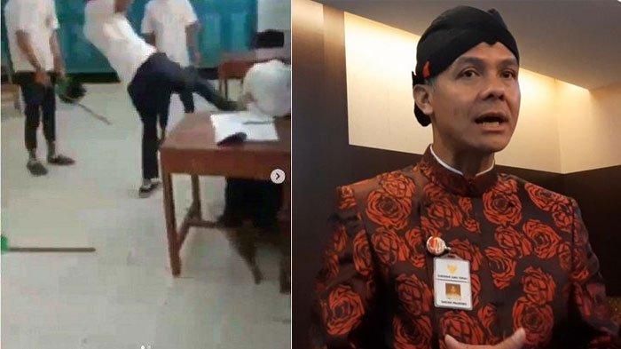 Buntut Kasus Video Viral Siswi SMP Nangis Dibully Teman Prianya, Ganjar Pranowo Ungkap Nasib Korban