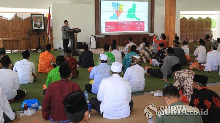 Bupati Anas Kembali Gandeng Tokoh Agama Imbau Umat Perketat Protokol Kesehatan di Banyuwangi