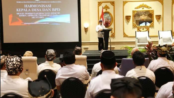 Bupati Anas Ajak Kepala Desa dan BPD Tingkatkan Sinergi untuk Majukan Desa