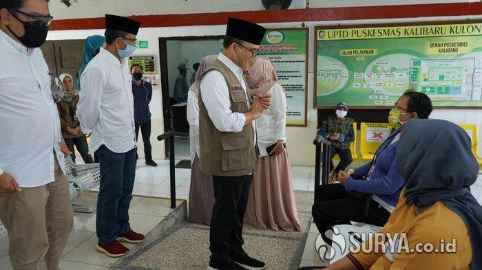 Datangi Puskesmas di Banyuwangi, Bupati Anas Cek APD Hingga Dorong Imunisasi Jemput Bola