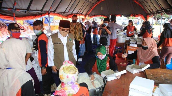 Seluruh Relawan Klaster Ponpes Darussalam Blokagung Banyuwangi Jalani Tes Rapid
