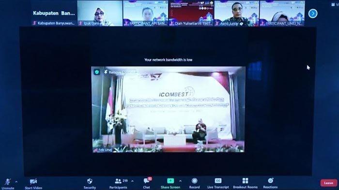 Di Forum Internasional Icombest, Bupati Ipuk Sebut Semua Dinas adalah Dinas Pemulihan Ekonomi