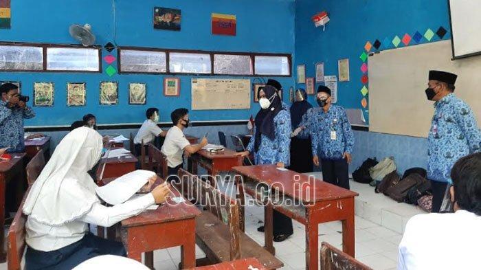 Di Kabupaten Gresik, 80 Persen SD dan SMP Jalani Pembelajaran Tatap Muka Hari ini
