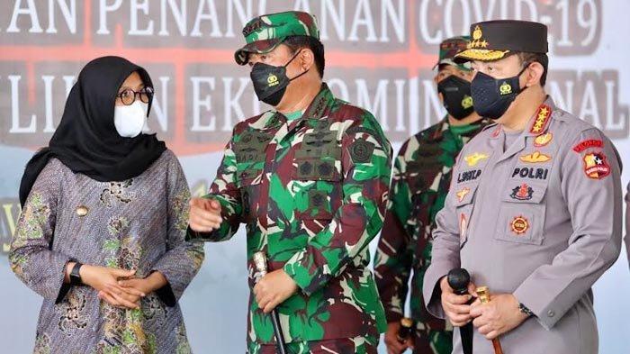 Panglima TNI dan Kapolri Apresiasi Kekompakan Banyuwangi Genjot Vaksinasi Covid-19