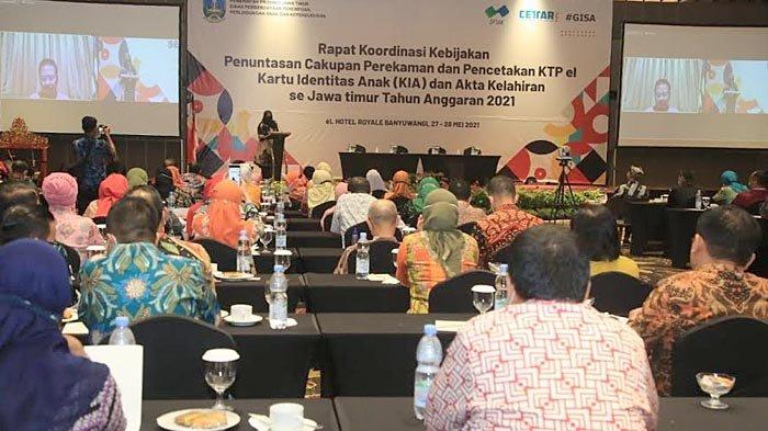 Banyak Inovasi, Banyuwangi Dipilih Jadi Lokasi Rakor Adminduk se-Jawa Timur