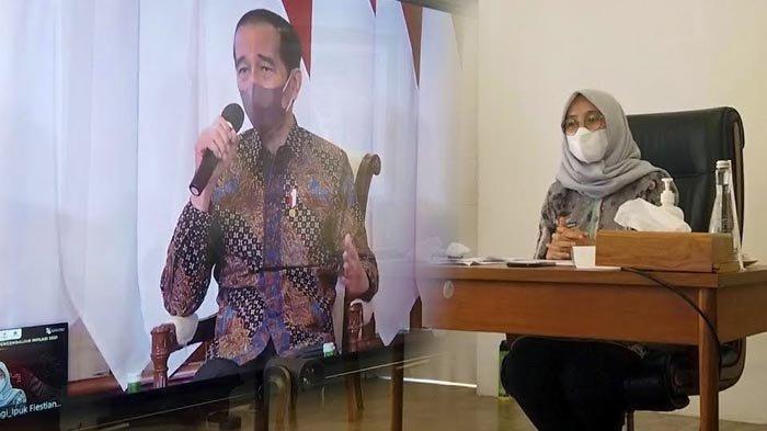 Banyuwangi TPID Terbaik Se-Jawa Bali, Bupati Ipuk Dialog Interaktif dengan Presiden Joko Widodo