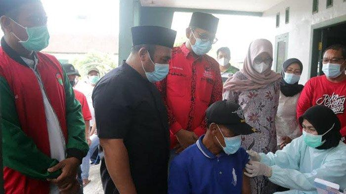 Gandeng Berbagai Pihak, Vaksinasi Covid-19 di Banyuwangi Sudah Tembus 51 Persen