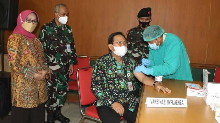 Bupati Jombang Apresiasi Acara Ceramah Kesehatan dan Pelaksanaan Vaksinasi Influenza TNI AU