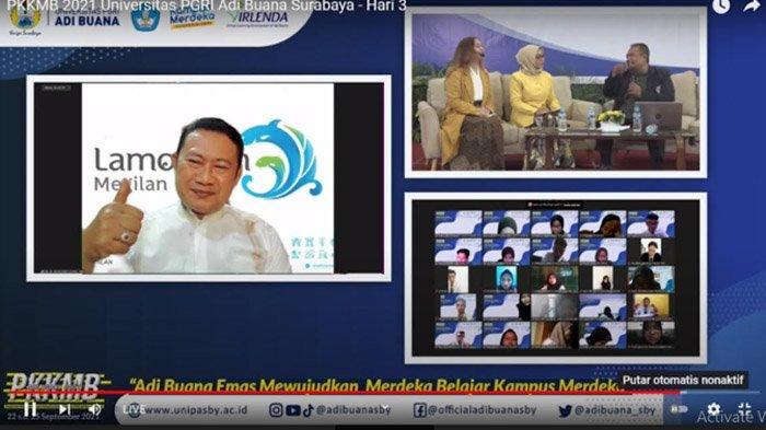 Kepada Mahasiswa Adi Buana Surabaya,  Bupati Lamongan Beri Tips Menjadi Pemimpin di Era Milenial
