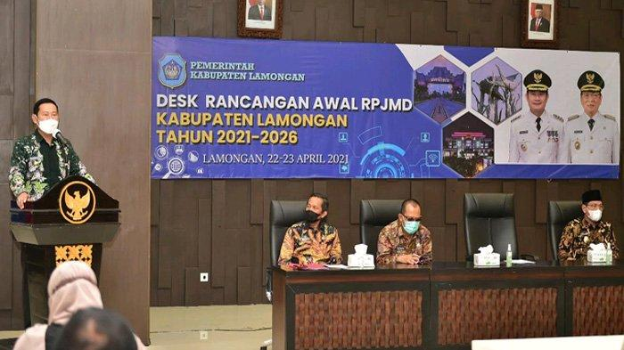 Sukseskan Visi Misi Pembangunan Sesuai RPJMD, Bupati Lamongan Minta OPD Buat Perencanaan Berkualitas