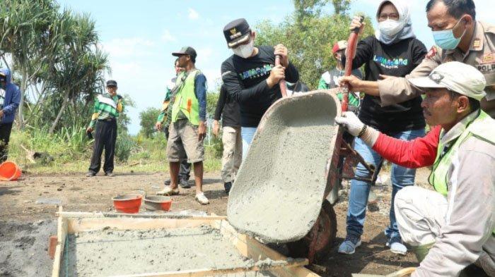 Jalan Baru Penghubung Pasirian-Tempursari Kabupaten Lumajang Mulai Dibangun